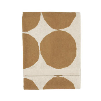 Kivet bath towel 70x140cm in cotton, beige
