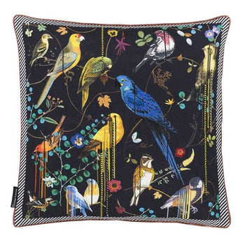 Birds Sinfonia Crepuscule Cushion 50cm in multicolour