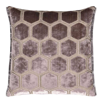Manipur Amethyst Cushion 43cm in purple