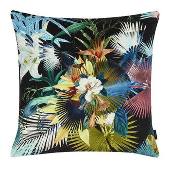 Oiseau de Bengale Marais Cushion  50cm in multicolour