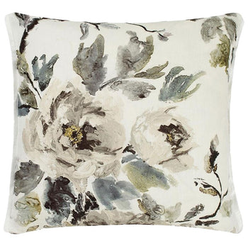 Shanghai Garden Ecru Cushion 60cm in natural