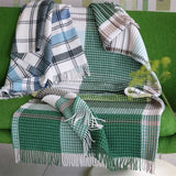 Bayswater Teal Throw 130 x 190 cm in turquoise