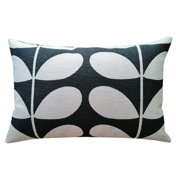 Giant Stem Cushion 60x40cm in gunmetal