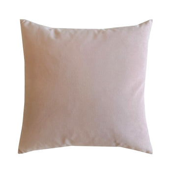 Plush Velvet Cushion 50cm in petal