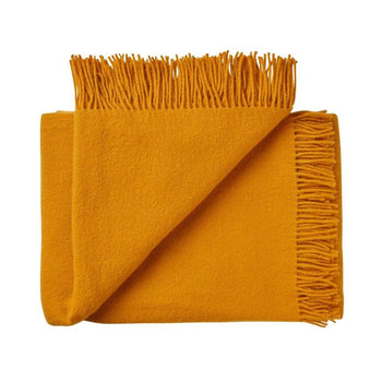 Nevis Throw 130cm x 200cm in saffron