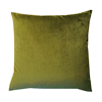 Plush Velvet Cushion 50cm in Vine