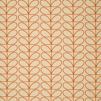 Woven Linear Stem in orange
