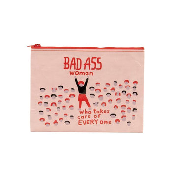 Zipper Pouch - Bad Ass Women