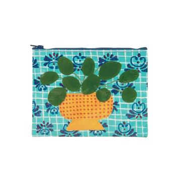 Zipper Pouch - Pretty Plant