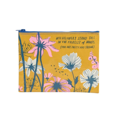 Zipper Pouch - Wildflowers Stand