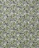 Flora Fabric in green