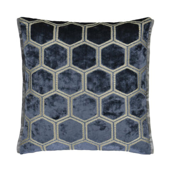 Manipur Cushion 43cm in midnight