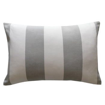 Solana Seagull Outdoor Cushion 60x40cm in white, grey