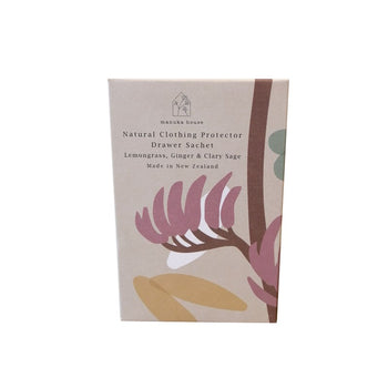 Natural Drawer Sachet - Lemongrass, Ginger & Clary Sage