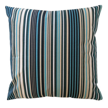 Ilhabela Azul Outdoor Cushion Cover 50cm in teal