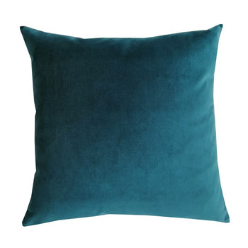 Plush Velvet Cushion 50cm in mallard