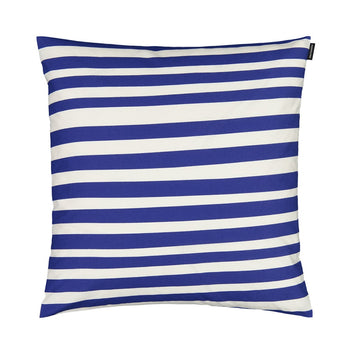 Uimari Cushion 50cm in white, blue