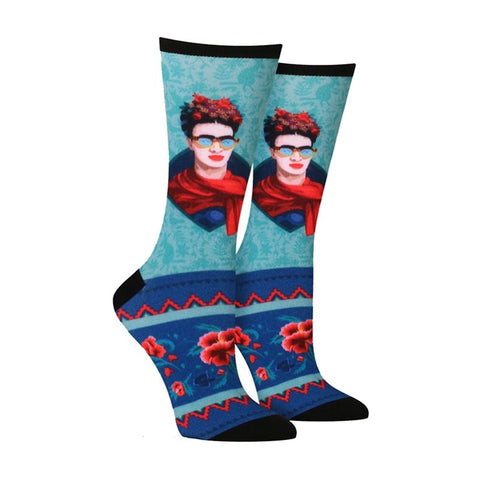 Rad Frida Women's Socks in Multi