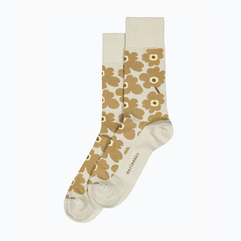 Mens Unikko Socks in light grey, beige