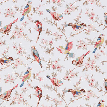 British Birds Fabric