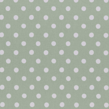 Button Spot Fabric in aloe