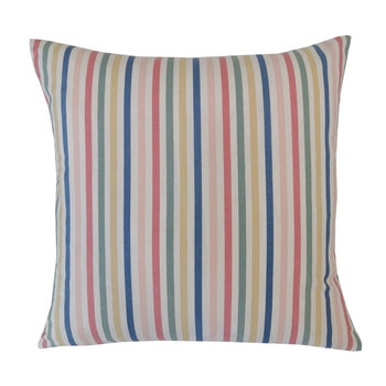 Mid Stripe Cushion 43cm in chalk