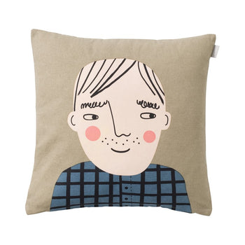 David Face Cushion 47cm
