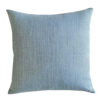 Raw Linen Cushion 50cm in lapis