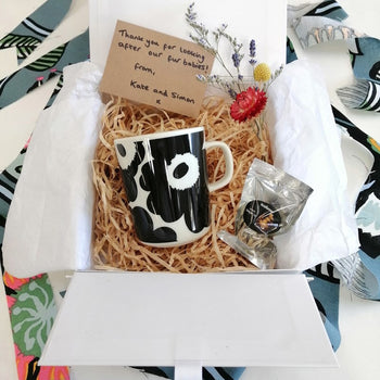 Unikko Gift Box in black - small