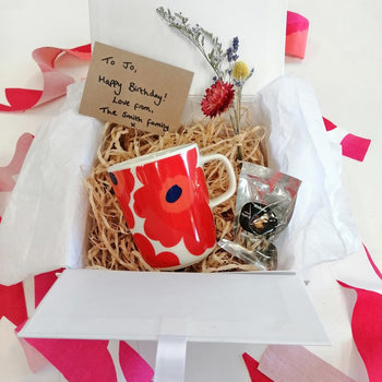 Unikko Gift Box in red - small