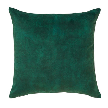 Ava Velvet Cushion 50cm in emerald