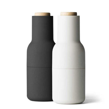 Menu Salt and Pepper Bottle Grinder, Ash/Carbon