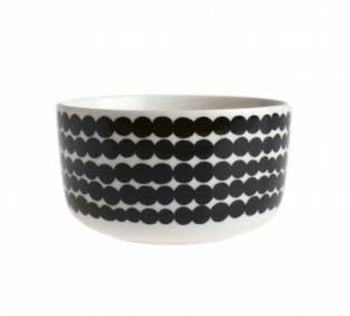 Marimekko  Black and White  Bowl 5 dl