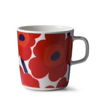 Unikko Mug 4DL in white, red