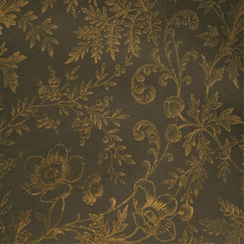 Okarito Circa 1900 Wallpaper in BlackGold 50%