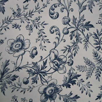 Okarito Circa 1900 Wallpaper in Tan Navy