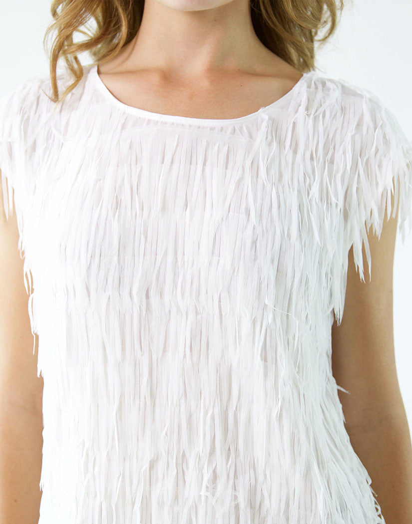 Fringe Party Top