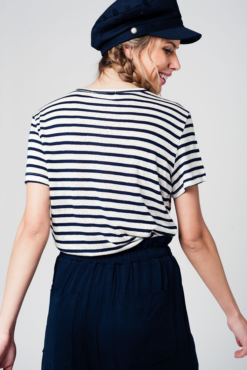 Striped Stones T-Shirt
