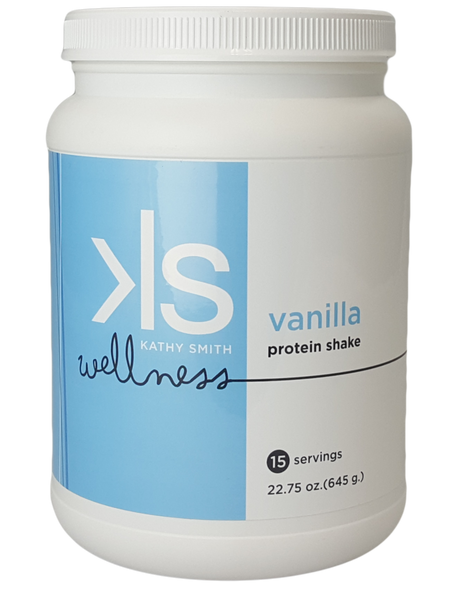 Kathy Smith Protein Shake - Vanilla - 1 Bottle