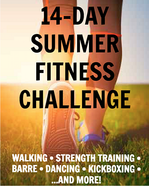 14 Days To Summer Challenge - Short Workouts, Big Results!