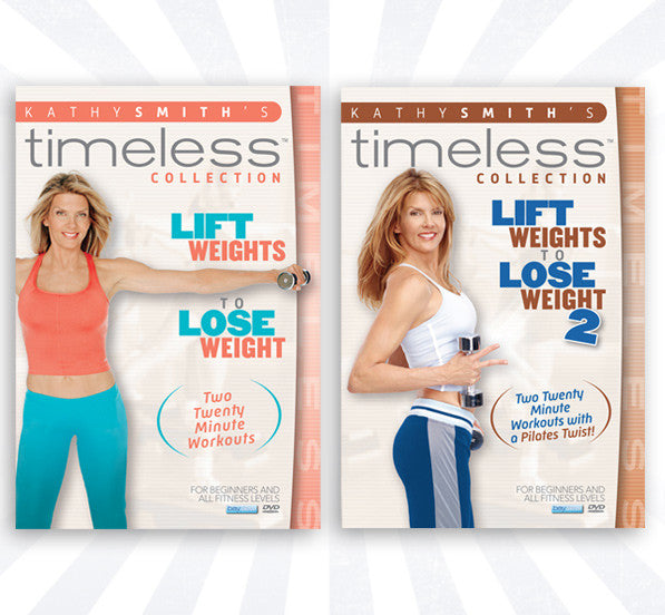 Lift Weights To Lose Weight 2 Volume DVD Set