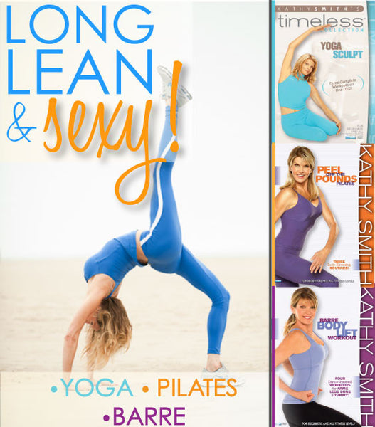 Long, Lean and Sexy! 3 DVDs