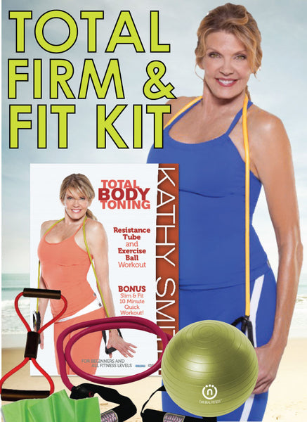Total Firm & Fit Kit with DVD and Equipment