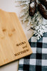 Dreamer Custom Engraved First Names Paddle Bamboo Cutting Board