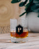 Monogram Engraved Lenox Whiskey Glass