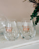 Lenox Tuscany Classic Decanter & Stemless Wine Glasses Barware Package, 3 Pc Set