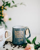 Custom Bridesmaid Coffee Mug, Engraved Porcelain - Slate