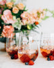 Custom Bridal Party Stemless Wine Glass