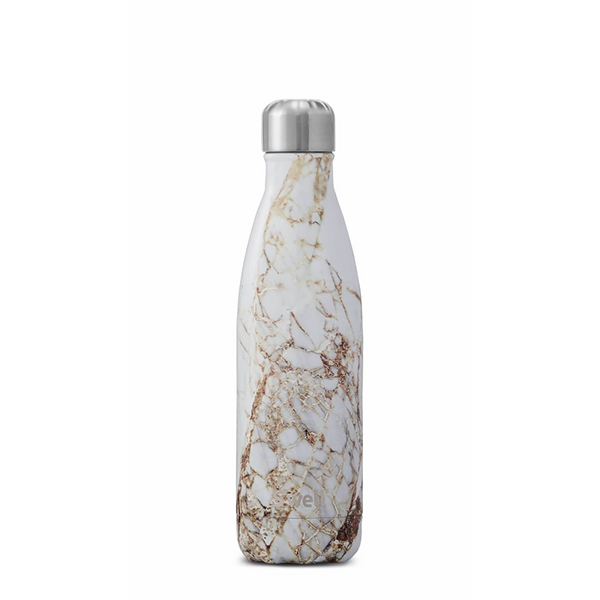 S'well Water Bottle, Calacatta Gold