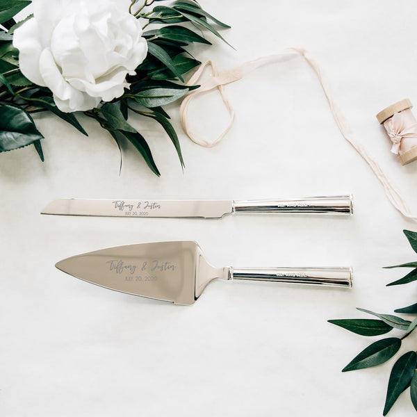 Kate Spade Darling Point Wedding Cake Knife and Server Set
